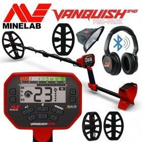 Металлодетектор Minelab VANQUISH 540 Pro-Pack