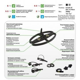 Катушка Nel SharpShooter для X-Terra 18,75 кГц