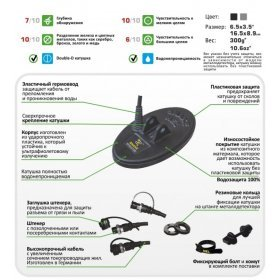 Катушка Nel Snake для X-Terra 18,75 кГц
